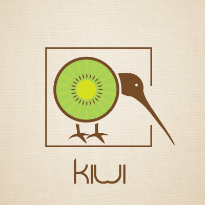 Kiwi Logo Design Gallery Inspiration Logomix