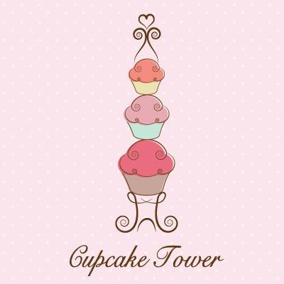cupcake tower logo design gallery inspiration logomix