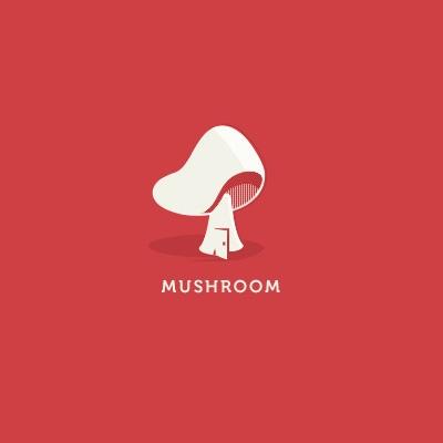 Mush.room   Logo Design Gallery Inspiration   LogoMix
