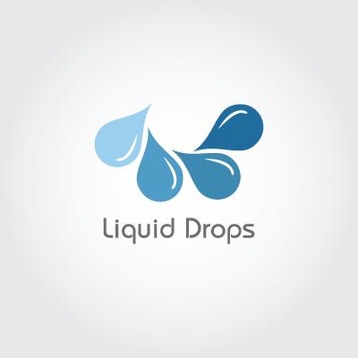 Liquid Drops Logo Design Gallery Inspiration Logomix