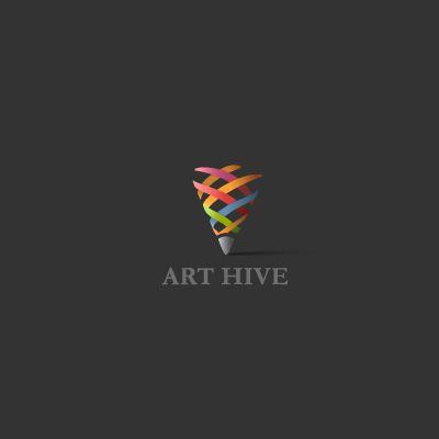 art hive logo logo design gallery inspiration logomix