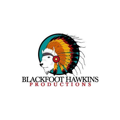 Blackfoot Hawkins Logo Design