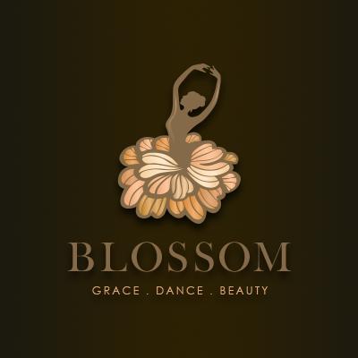 Blossom Ballet Dance Academy Logo Design Gallery