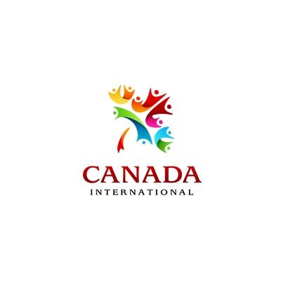 Canada international logo design gallery inspiration for International design company