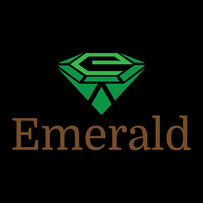 emerald logo design gallery inspiration logomix
