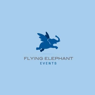 Flying Elephant Events Logo Design Gallery Inspiration