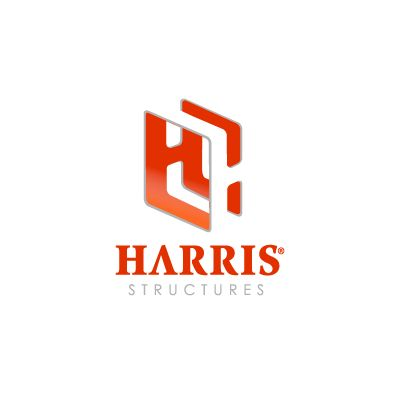 Harris Structures Logo Design