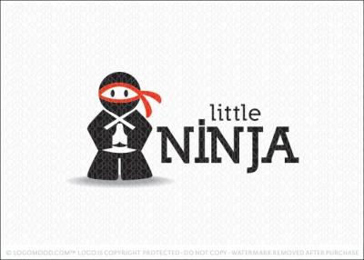 Little Ninja Logo Design Gallery Inspiration Logomix