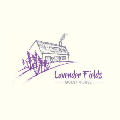 Lavender Field Guest House Logo Design Gallery Inspiration Logomix
