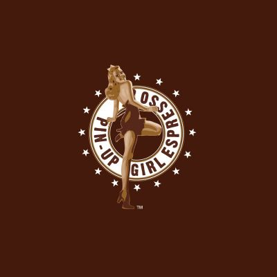 Pin Up Girl Espresso Logo Design Gallery Inspiration LogoMix