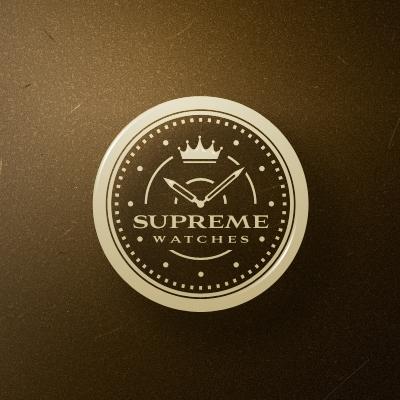 Supreme Watches | Logo Design Gallery Inspiration | LogoMix