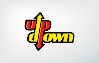 Up Down Logo Design Gallery Inspiration Logomix