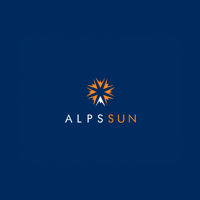 Alps Sun   Logo Design Gallery Inspiration   LogoMix