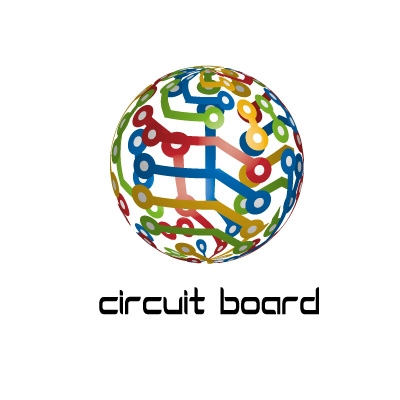 CIRCUIT BOARD GLOBE | Logo Design Gallery Inspiration | LogoMix