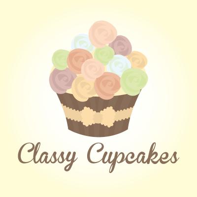 Classy Cupcakes Wedding