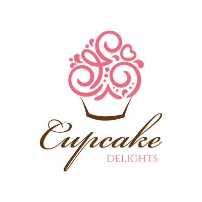 Cool Delight Luxurious Ice Creams And Cupcakes Logo