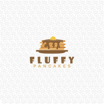 Fluffy Pancakes Logo Design Gallery Inspiration Logomix