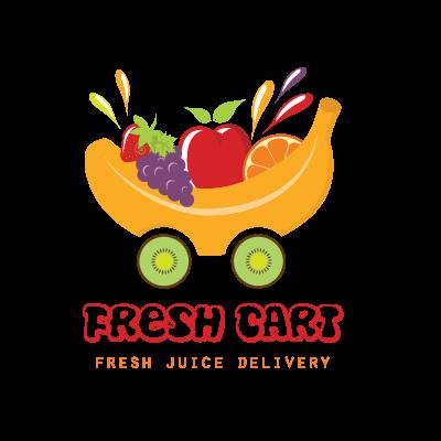 Fresh fruit juice cart | Logo Design Gallery Inspiration ...