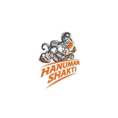 Hanuman Shakti Logo Logo Design Gallery Inspiration