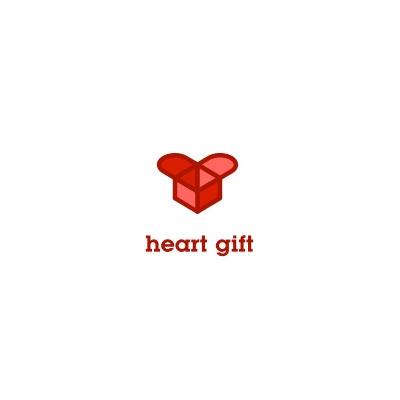 Heart Gift Logo Logo Design Gallery Inspiration Logomix