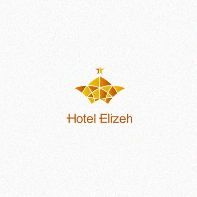Hotel elizeh logo design gallery inspiration logomix for Hotel logo design