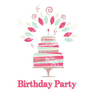 birthday party logo design gallery inspiration logomix