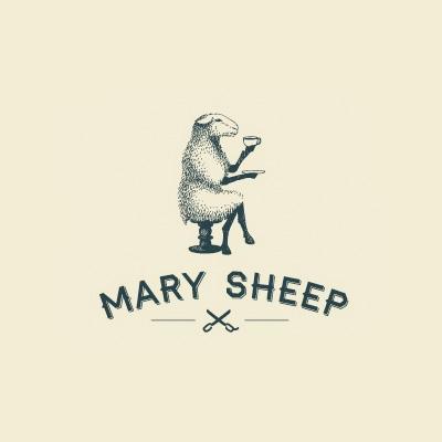Mary Sheep Logo Logo Design Gallery Inspiration Logomix