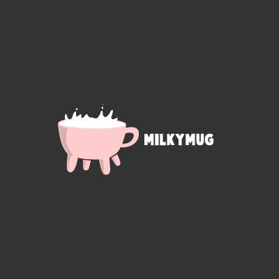 Milky Mug Logo Design Gallery Inspiration Logomix