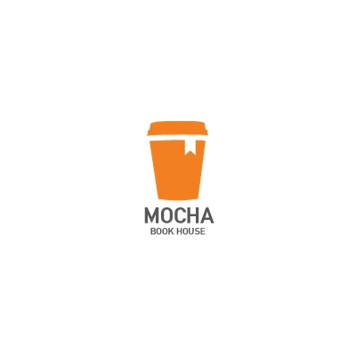 Brown Coffee Cup Logo