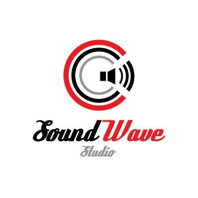 sound wave music studio logo