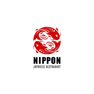 Nippon Japanese Restaurant Logo Design Gallery