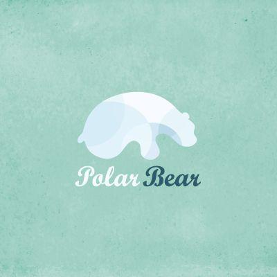 polar bear logo design gallery inspiration logomix. Black Bedroom Furniture Sets. Home Design Ideas