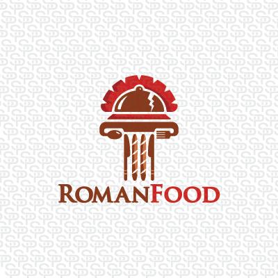 Free Roman Pillar Logo Design Vector  Download Free