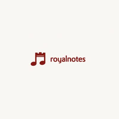 Royal Notes Logo Design Gallery Inspiration Logomix