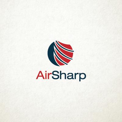 Air Sharp Logo Design Gallery Inspiration Logomix