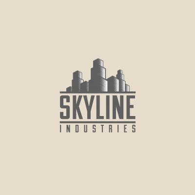 skyline logo design | logo design gallery inspiration | logomix