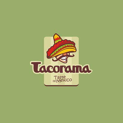 Tacorama Logo Logo Design Gallery Inspiration Logomix