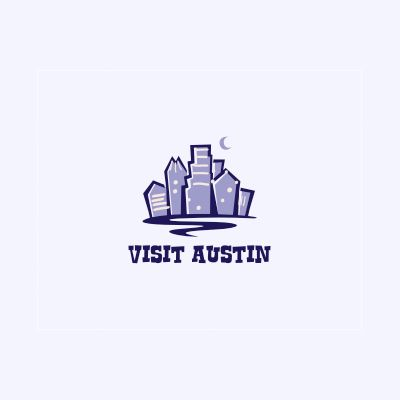 Visit Austin Logo Design Gallery Inspiration Logomix
