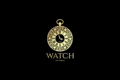 watch antiques logo design gallery inspiration logomix