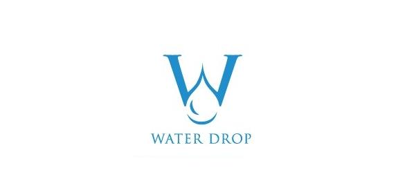 Gallery For > Water Drop Logo Design