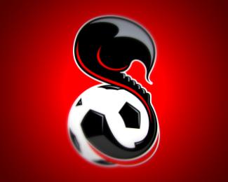 Cool football soccer logo design logo design gallery river jam soccer logo by levelb voltagebd Images
